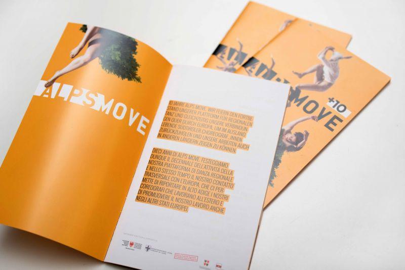 Brochure eventi calendario
